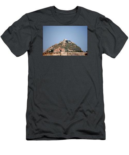 Temple Of Zeus Men's T-Shirt (Slim Fit) by Robert Moss