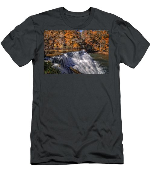 Tennessee Waterfall Men's T-Shirt (Athletic Fit)
