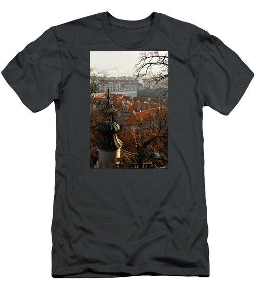 Terracotta Crowns Men's T-Shirt (Athletic Fit)