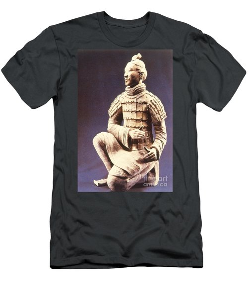 Men's T-Shirt (Slim Fit) featuring the photograph Terracotta Soldier by Heiko Koehrer-Wagner