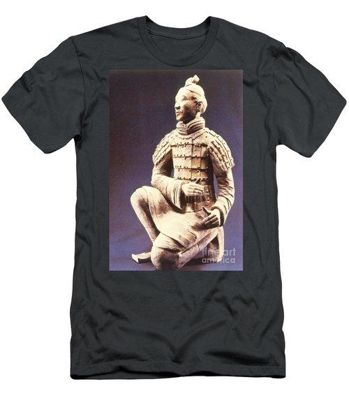 Terracotta Soldier Men's T-Shirt (Athletic Fit)