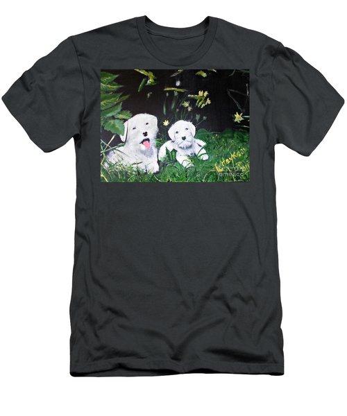 Terriers' Farm Pals. Men's T-Shirt (Athletic Fit)