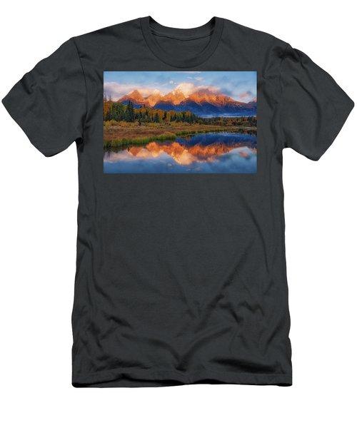 Teton Morning Men's T-Shirt (Athletic Fit)
