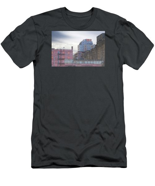 Men's T-Shirt (Slim Fit) featuring the digital art Teweles Seed Co by David Blank