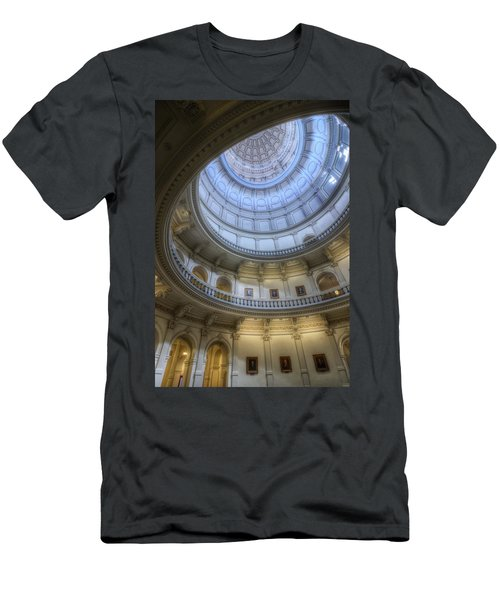 Texas Capitol Dome Interior Men's T-Shirt (Athletic Fit)