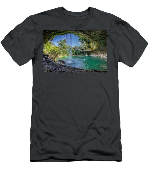 Texas Paradise Men's T-Shirt (Athletic Fit)