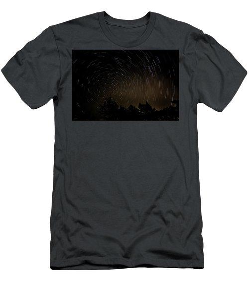 Texas Star Trails Men's T-Shirt (Athletic Fit)