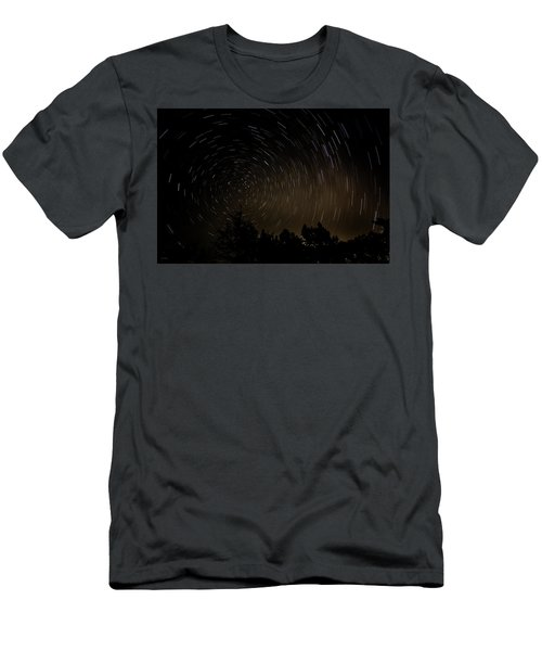 Texas Star Trails Men's T-Shirt (Athletic Fit)