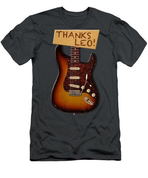 Thanks Leo Strat Shirt Men's T-Shirt (Athletic Fit)