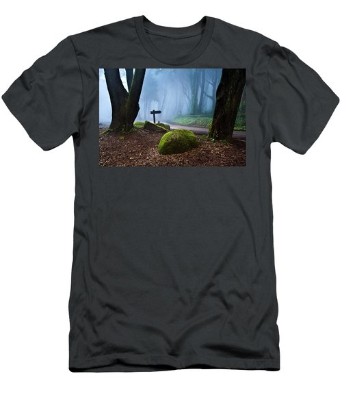 That Way Men's T-Shirt (Slim Fit) by Jorge Maia
