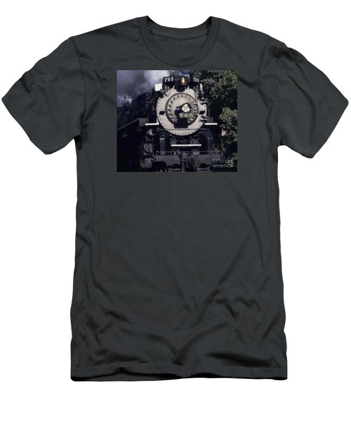 Men's T-Shirt (Slim Fit) featuring the photograph The 765 by Jim Lepard