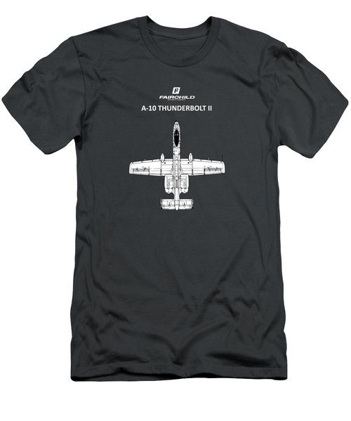 The A-10 Thunderbolt Men's T-Shirt (Athletic Fit)