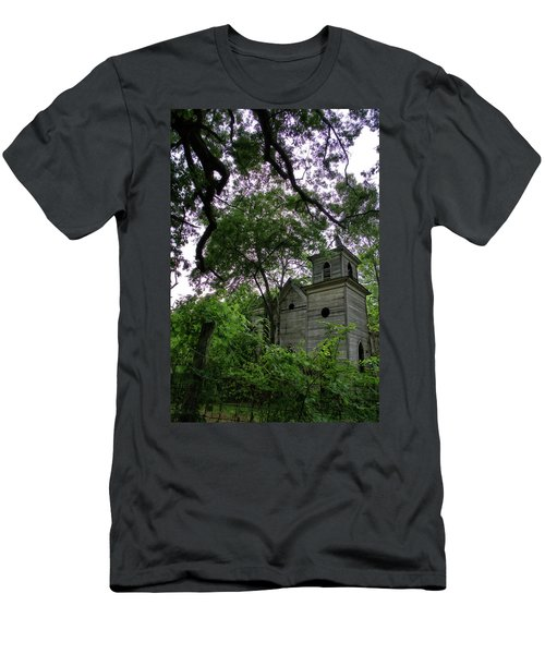 The Abandoned Church Men's T-Shirt (Athletic Fit)