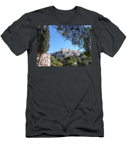 The Acropolis Men's T-Shirt (Slim Fit) by Constance DRESCHER