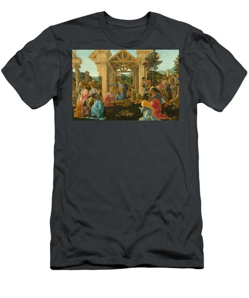 The Adoration Of The Magi Men's T-Shirt (Athletic Fit)