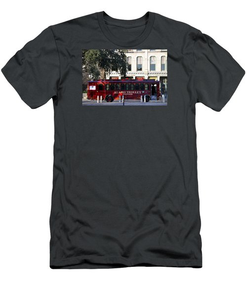 The Alamo Trolley Men's T-Shirt (Athletic Fit)