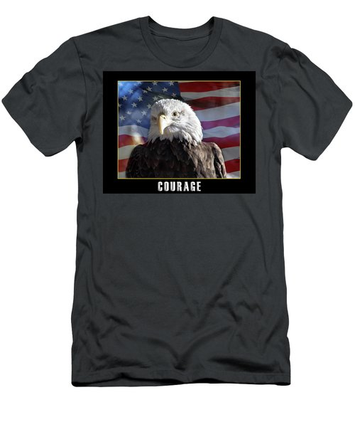 The American Bald Eagle Men's T-Shirt (Athletic Fit)