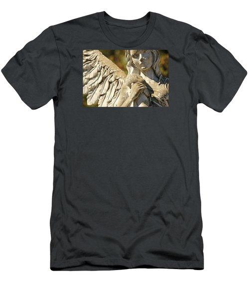 The Angel At St. Thomas Men's T-Shirt (Slim Fit)