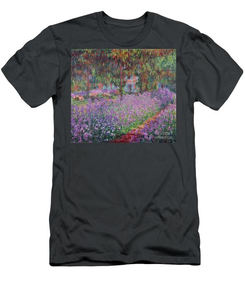 The Artists Garden At Giverny Men's T-Shirt (Athletic Fit)
