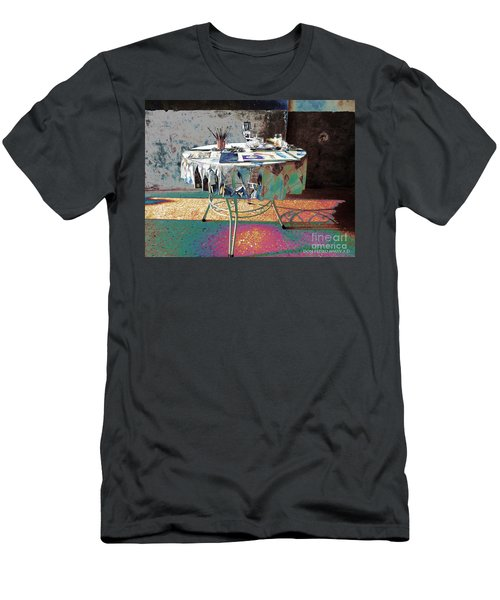 The Artists Table Men's T-Shirt (Slim Fit) by Don Pedro De Gracia