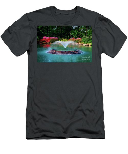 The Azalea Pond At Honor Heights Park Men's T-Shirt (Athletic Fit)