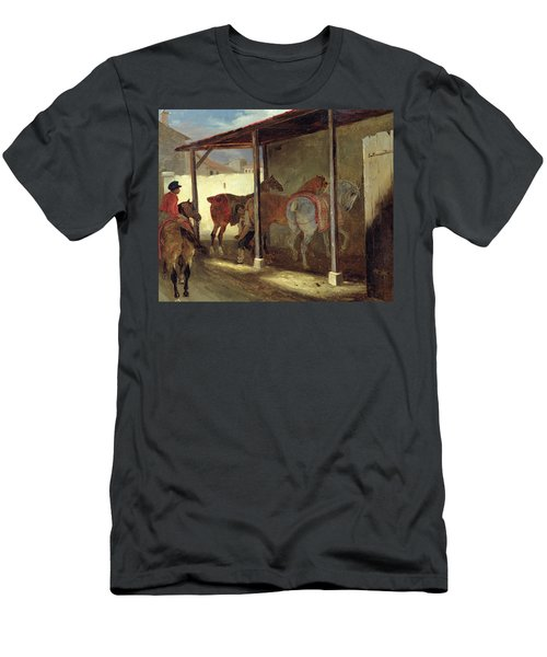 The Barn Of Marechal-ferrant Men's T-Shirt (Athletic Fit)