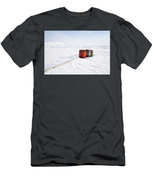 The Barrels Men's T-Shirt (Slim Fit) by Nick Mares