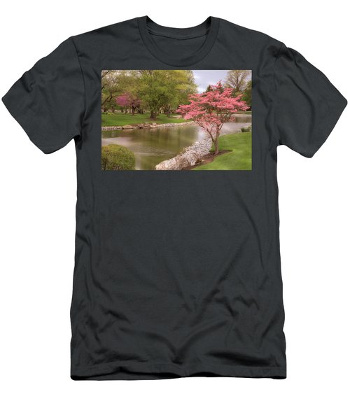 Men's T-Shirt (Athletic Fit) featuring the photograph The Beauty Of Spring by Angie Tirado