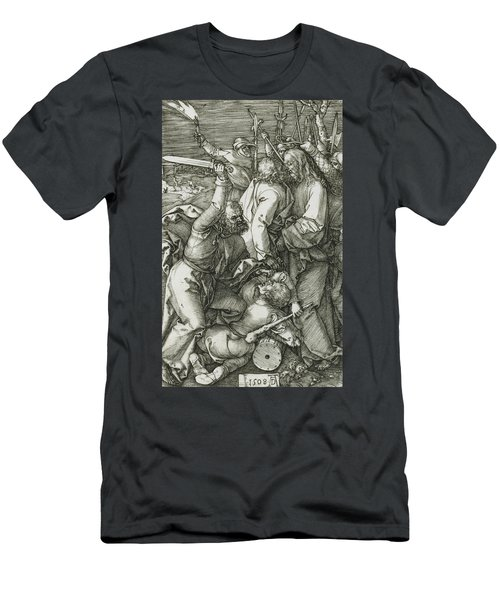 The Betrayal Of Christ Men's T-Shirt (Athletic Fit)