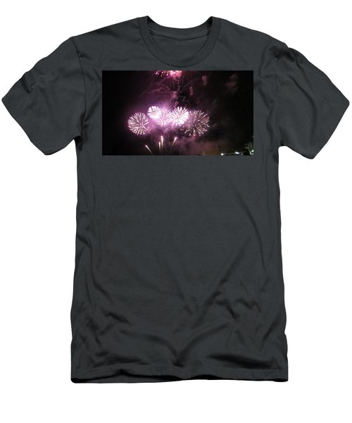 Men's T-Shirt (Athletic Fit) featuring the photograph The Big Big Boom by Aaron Martens