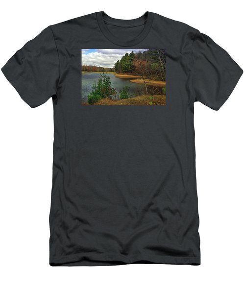 Men's T-Shirt (Slim Fit) featuring the photograph The Big Eau Plein by Judy  Johnson