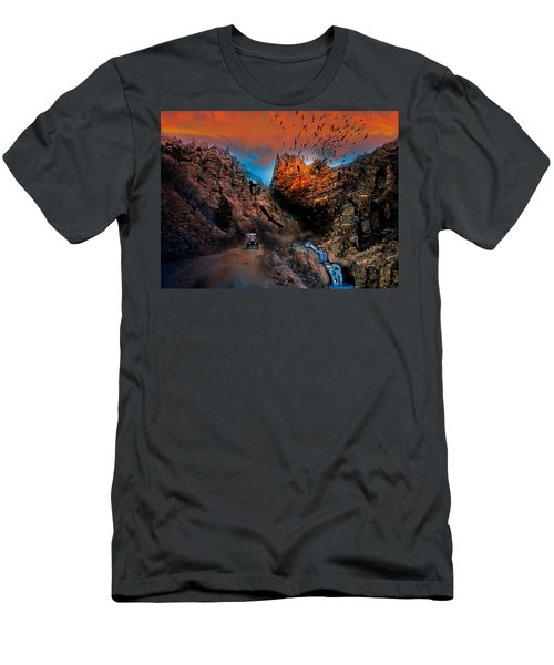 The Birds Of Window Rock Men's T-Shirt (Slim Fit) by J Griff Griffin