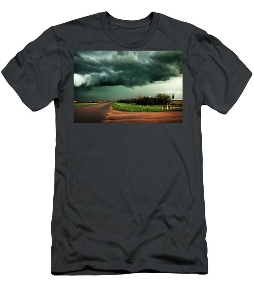 The Birth Of A Funnel Cloud Men's T-Shirt (Athletic Fit)