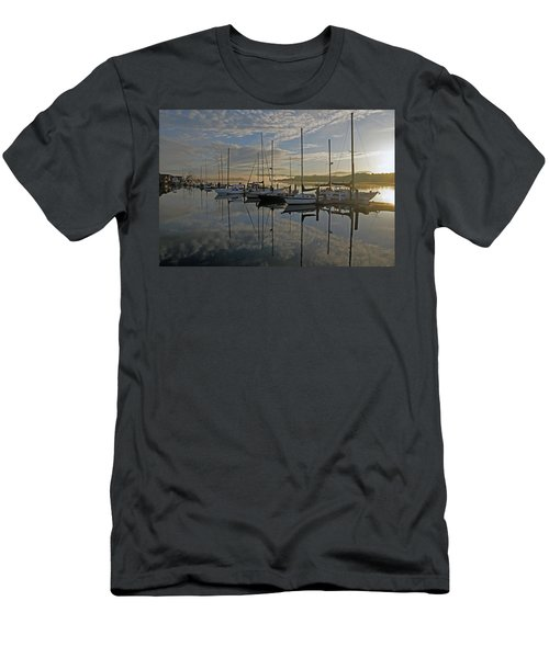 The Blue And Beyond Men's T-Shirt (Slim Fit) by Suzy Piatt