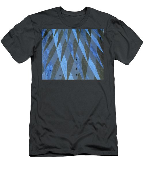 The Blue Dimension Men's T-Shirt (Athletic Fit)