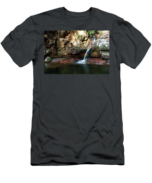 The Blue Hole In November #2 Men's T-Shirt (Slim Fit) by Jeff Severson