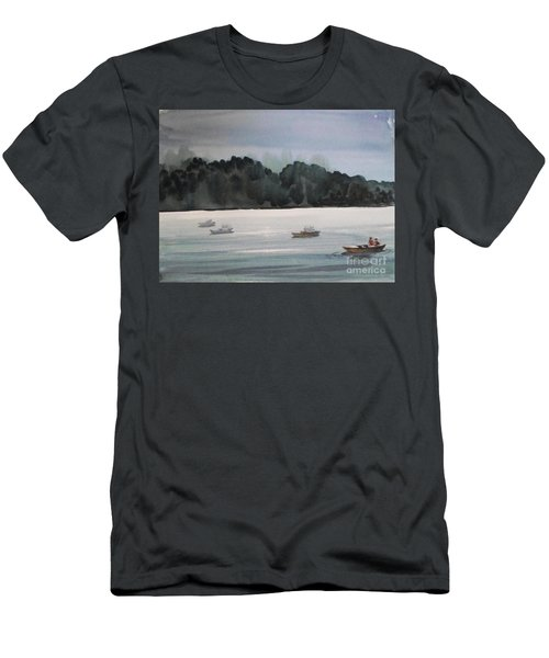 The Boat Ride Men's T-Shirt (Athletic Fit)