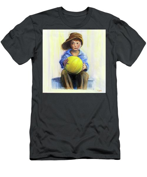 The Boy With The Ball Men's T-Shirt (Athletic Fit)