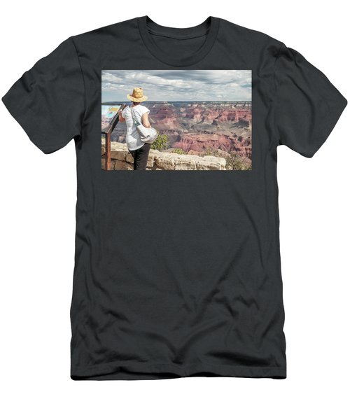 The Breathtaking View Men's T-Shirt (Athletic Fit)