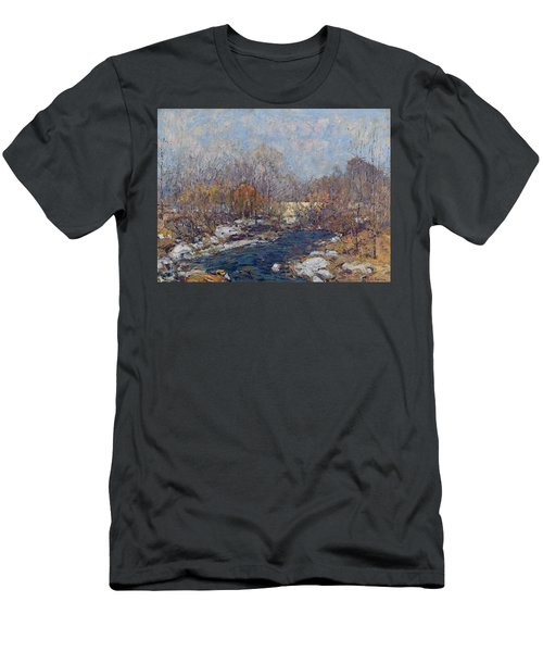 The Bridge  Garfield Park  By William J  Forsyth Men's T-Shirt (Athletic Fit)