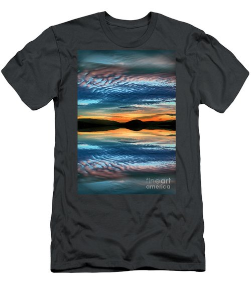 The Brush Strokes Of Evening Men's T-Shirt (Athletic Fit)