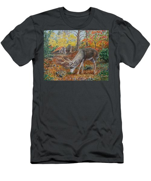 The Buck Stops Here Men's T-Shirt (Athletic Fit)