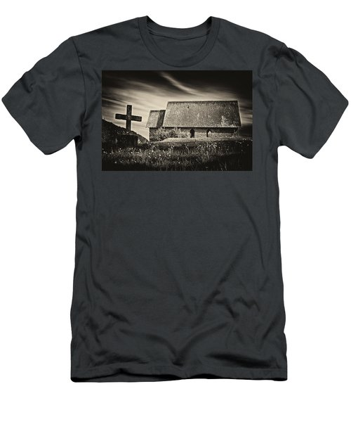 The Butter Church - 365-41 Men's T-Shirt (Slim Fit) by Inge Riis McDonald