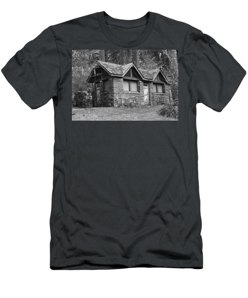 The Cabin Men's T-Shirt (Slim Fit) by Angi Parks
