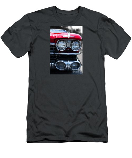 Men's T-Shirt (Slim Fit) featuring the photograph The Cadillac Way by Rebecca Davis