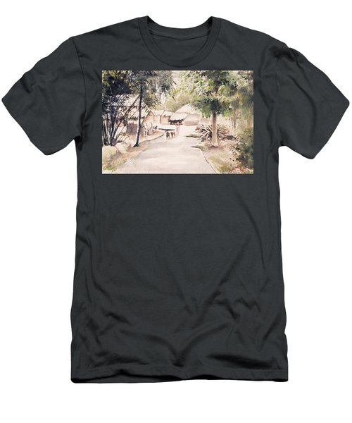 The Call Of Morning Men's T-Shirt (Athletic Fit)