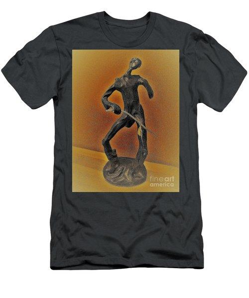The Cane Man. Men's T-Shirt (Athletic Fit)