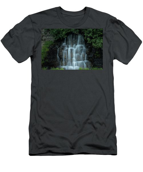 The Cascading Waterfall Men's T-Shirt (Athletic Fit)