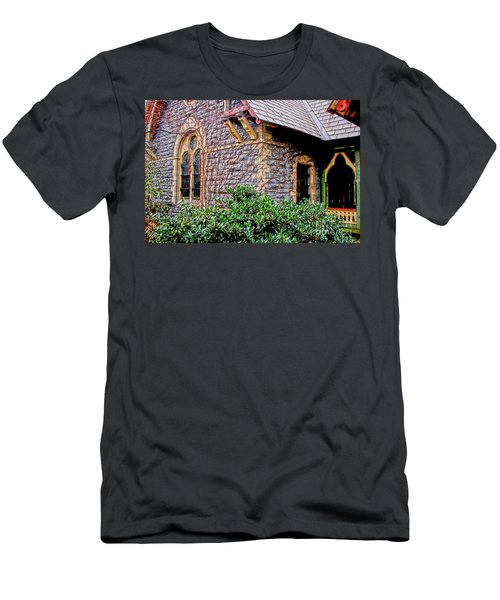 Central Park Dairy Cottage Men's T-Shirt (Athletic Fit)