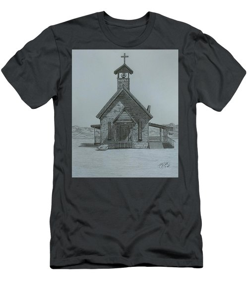 The Chapel  Men's T-Shirt (Athletic Fit)